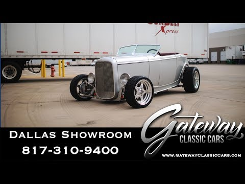 1932 Ford Roadster For Sale Gateway Classic Cars Dallas #1141
