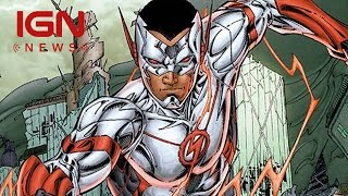 wally west cast for the flash season 2 ign news