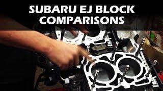 Subaru EJ Block Comparisons