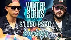 WINTER SERIES #12 C. Darwin2 | quiditbear | sk2ll_m0dR Poker Replays 2019