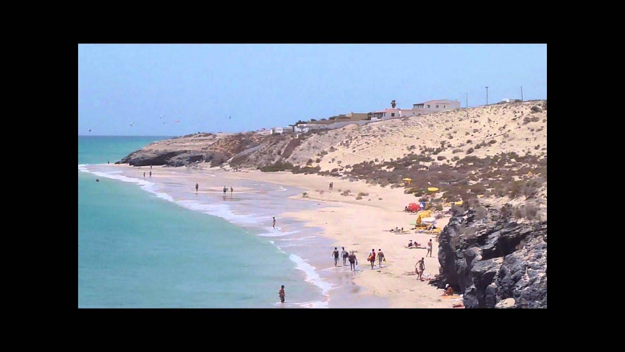 Playa Esmeralda Strand. Fuerteventura Strände. - YouTube