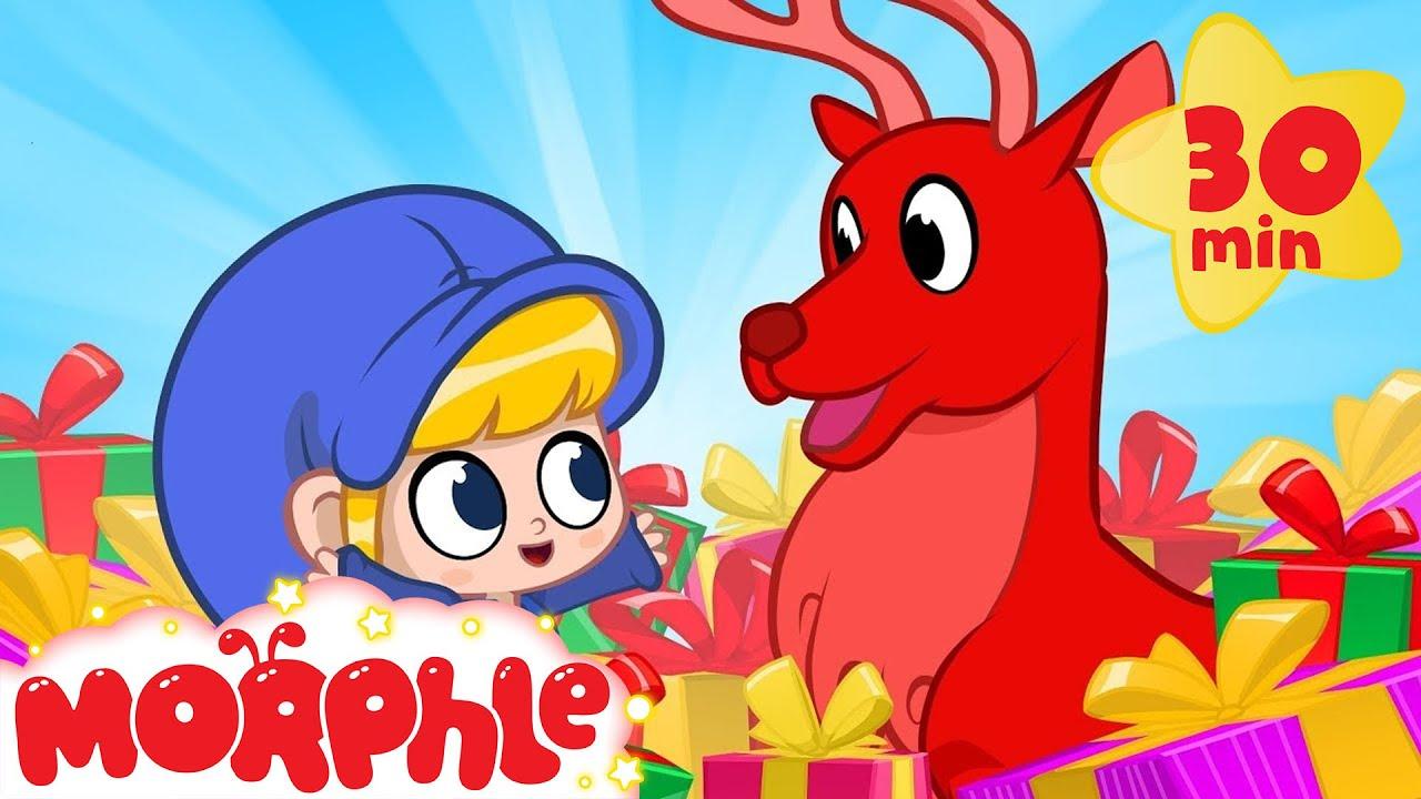 Oh No! Morphles Christmas Gift! My Magic Pet Morphle | Cartoons For Kids | Morphle TV | BRAND NEW