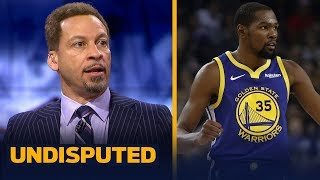 Chris Broussard weighs in on how Draymond will affect KD's decision this summer | NBA | UNDISPUTED