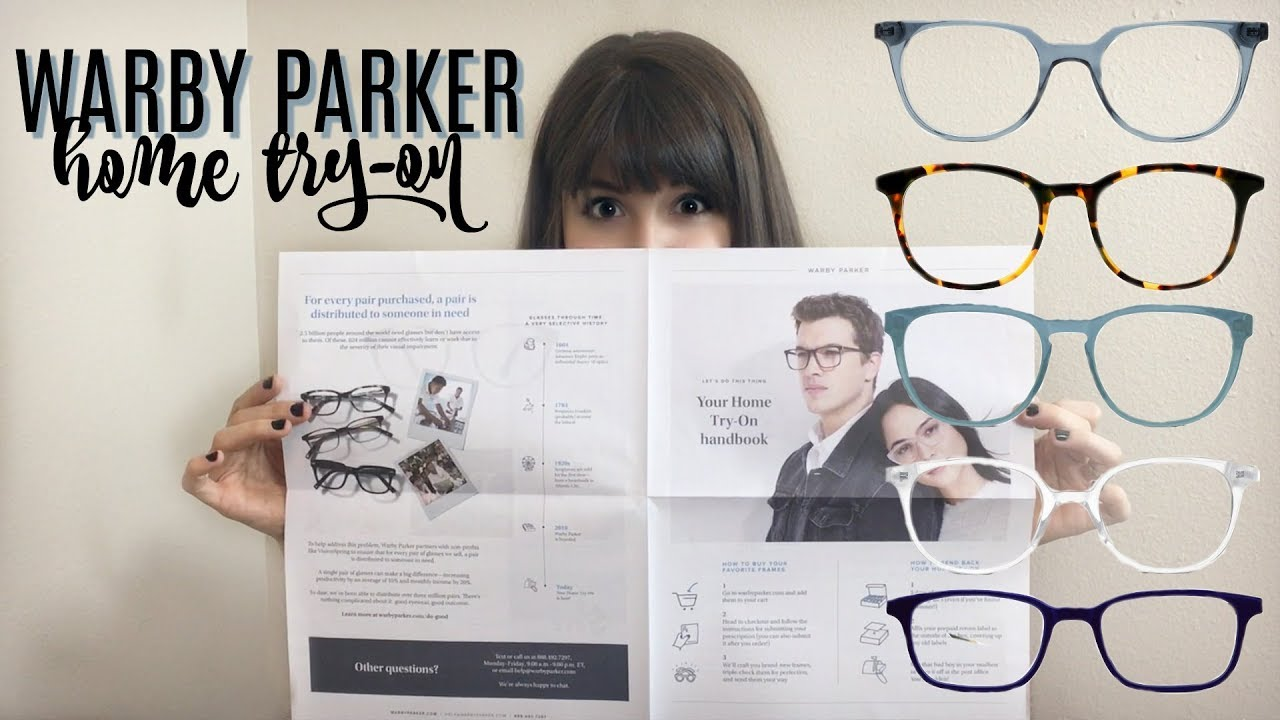 Warby Parker Home Try-On - YouTube