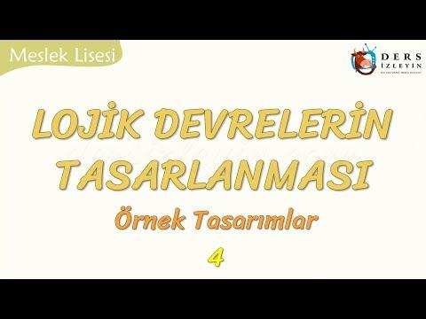 LOJİK DEVRELERİN TASARLANMASI - 4