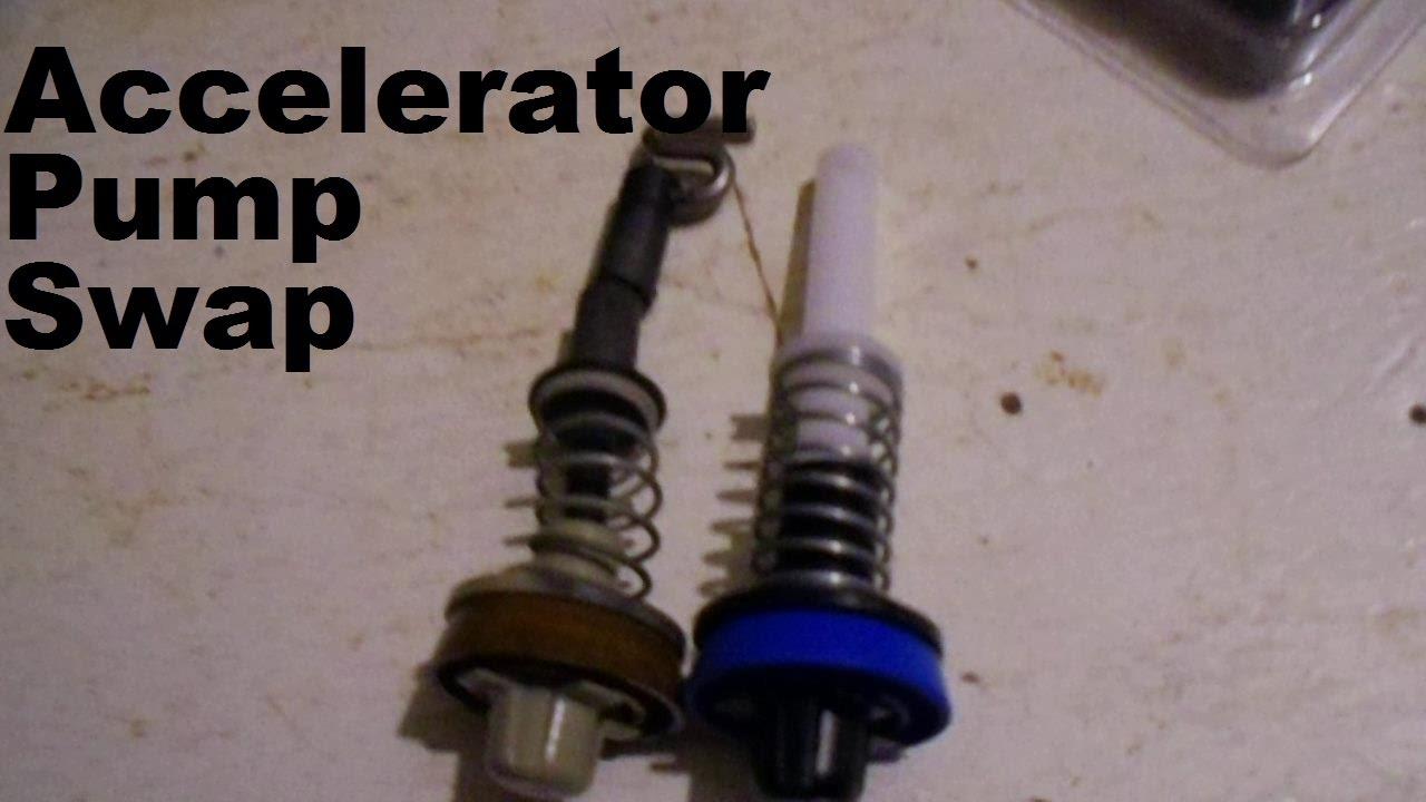 edelbrock quicksilver carburetor diagram rb25det ecu wiring accelerator pump replacement on an youtube