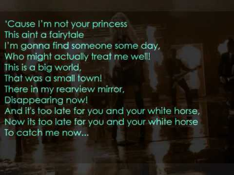 White Horse - Taylor Swift (LYRICS)
