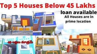 Top 5 Houses For Sale Below 45…