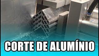 CNC - CORTE DE ALUMÍNIO - GRANDE QUANTIDADE DE PEÇAS