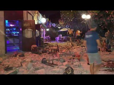 Earthquake In Greece Kills Two