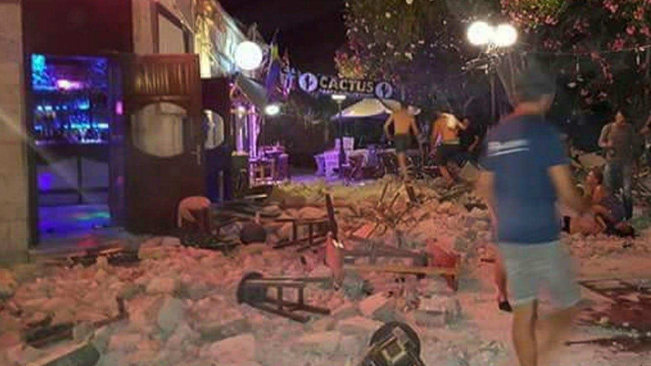 Earthquake off Turkey and Greece kills at least eight - CNN