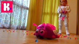 Орбиз Божья коровка на р/у игровой набор распаковка Orbeez Ladybug Scooper toy unbpxing(Божья коровка Орбиз поедающая разноцветные шарики которые растут в воде на радиоуправлении Unboxing Orbeez Ladybug..., 2015-09-12T16:15:53.000Z)