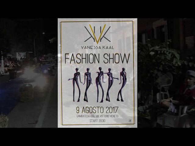 Gambatesa 9 Agosto 2017: Vanessa Kaal - Fashon Show