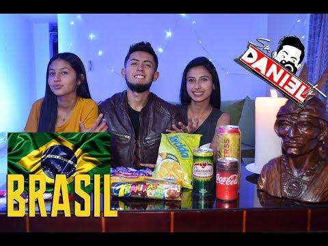 DULCES DE BRASIL 🇧🇷 REACCIÓN - Sr DanielTv