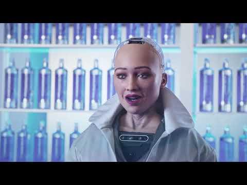 A primeira robot cidadá, Sophia, protagoniza a campaña de Cabreiroá