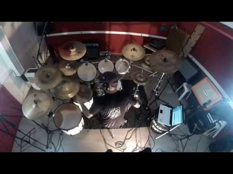 Dark funeral - Hail murder Drum cover by Julien Helwin