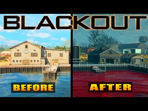 Black Ops 4: ALL New Map Changes in Blackout (Operation Apocalypse Z)