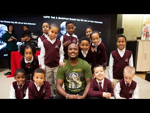 Griot B Speaks On Black Men Becoming Teachers, Learning Through Music & Code Switch