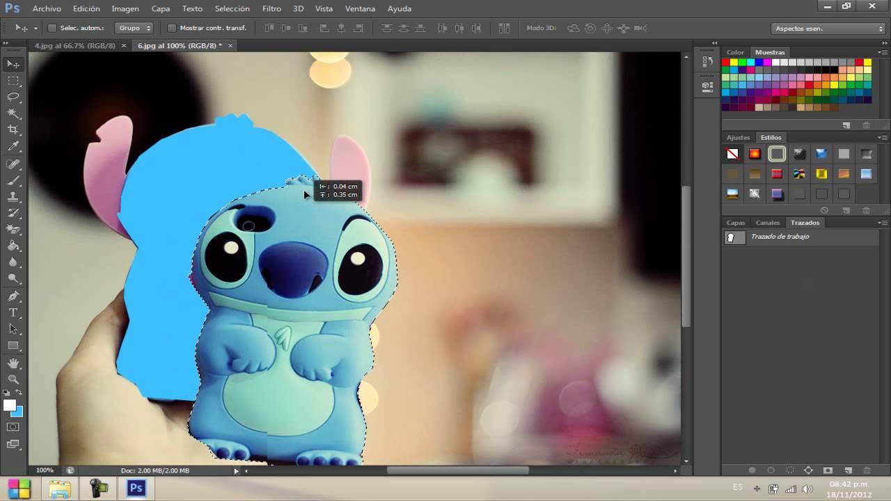 ¿Cómo recortar una imagen en photoshop? - tutorgrafico.com