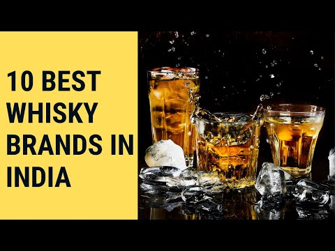 List Of Top 10 Best Whisky Brands In India With Price | Single Malt Indian Whisky - Things In India