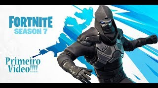I bought the new Battle pass from Season 7!!!! Fortnite-Battle Royale * Channel's first Video *
