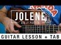 Jolene - Dolly Parton - Guitar Lesson