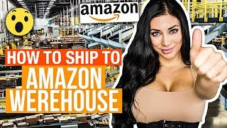 How To Ship To Amazon's Warehouse STEP BY STEP 📝