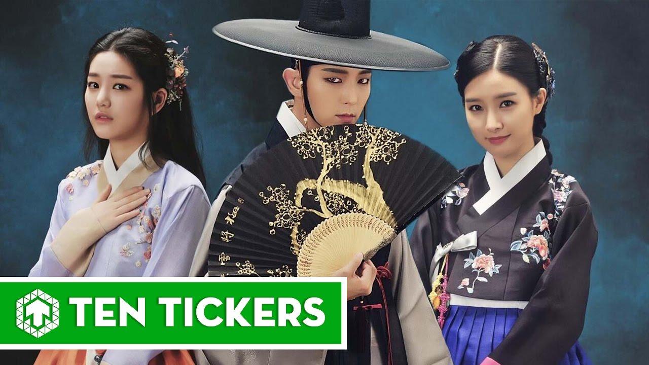 Top 10 phim truyền hình Hàn hay nhất 2015 | Ten Tickers Asia 6