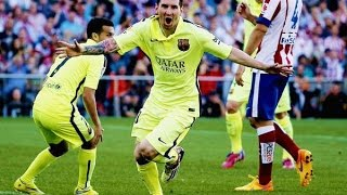We are the champions! messi amazing goal vs atletico madrid. facebook: https://www.facebook.com/pages/messi-theboss/538177782928122?ref=hl ---- disclaimer! -...