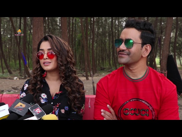 Nirahua The Leader - निरहुआ द लीडर - Video Song Shoot - Dinesh Lal Yadav & Amrapali Dubey