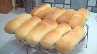 Домашние булки для хот-догов.