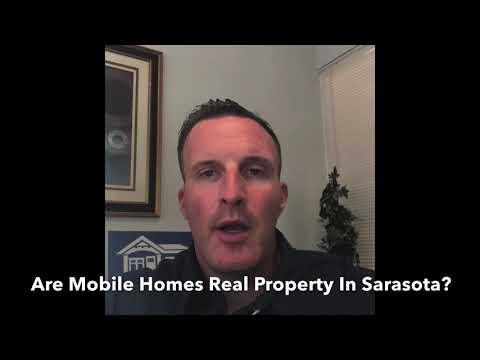 Is A Sarasota Mobile Home Real Property