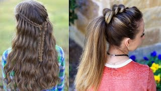 Latest Beautiful hairstyle for Long Hair girls | Bun hairstyles for Girls #4