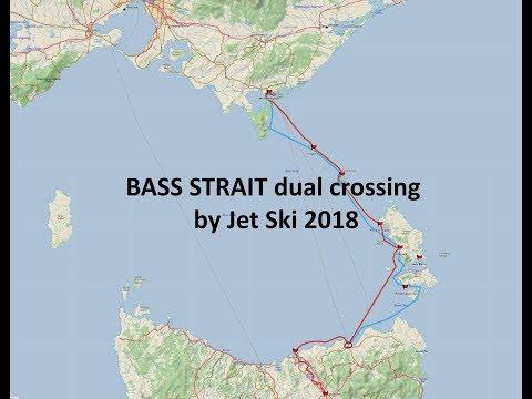 Bass Strait crossing by Jet ski 2018
