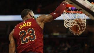 LeBron James 17 Assists! Ties Career High vs Hawks! 2017-18 Season