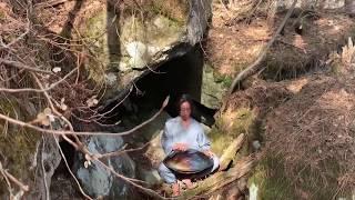 白虎 Energized Handpan Music at Secret Roots Mountain Tohoku Japan 2019