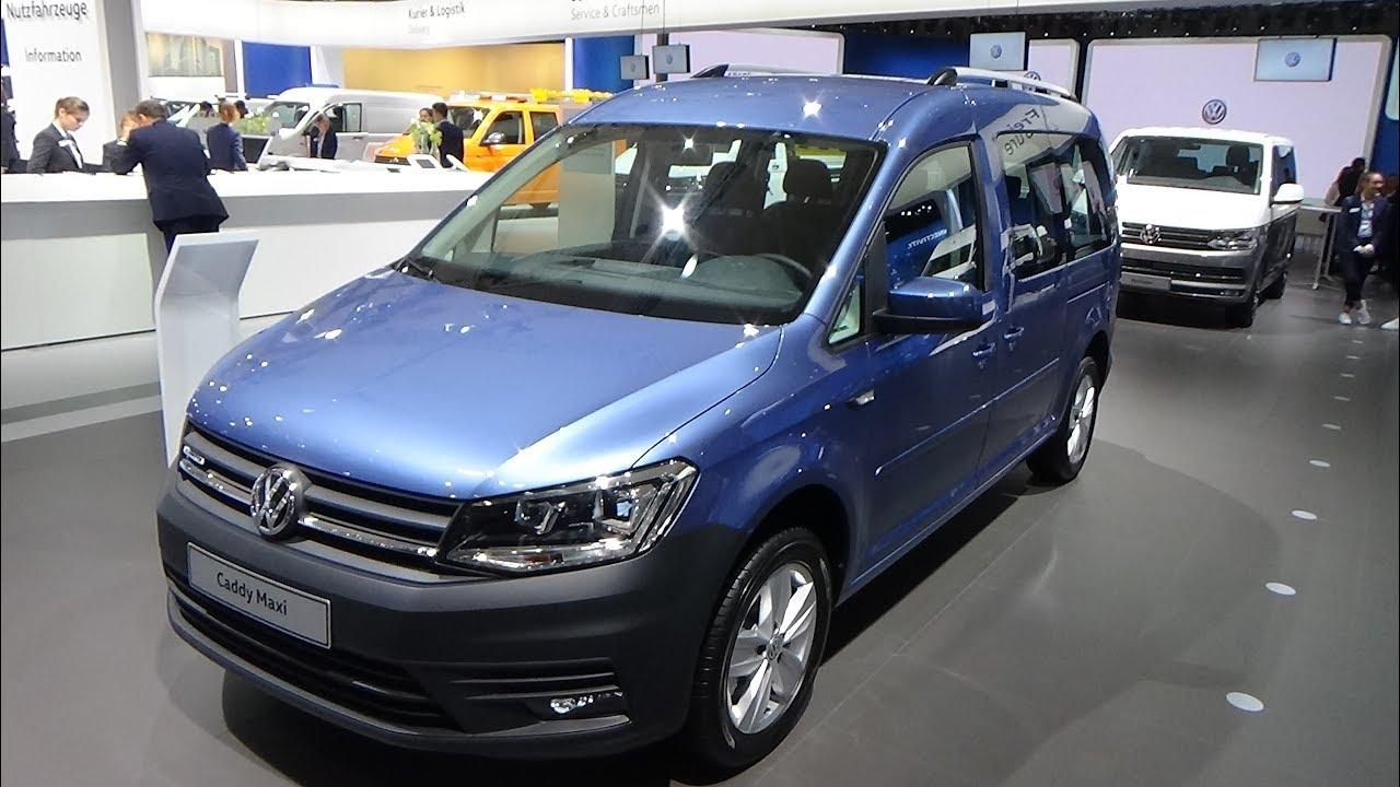 2019 Volkswagen Caddy Maxi Xtra Exterior And Interior Iaa Hannover 2018