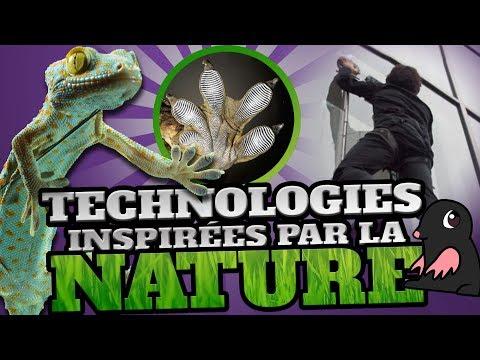 TOP 10 des TECHNOLOGIES GÉNIALES inspirées par la NATURE