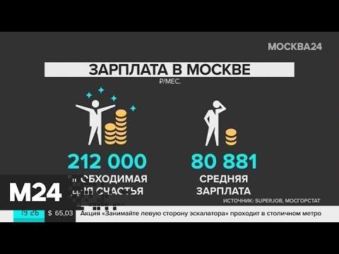 О какой зарплате мечтают россияне - Москва 24