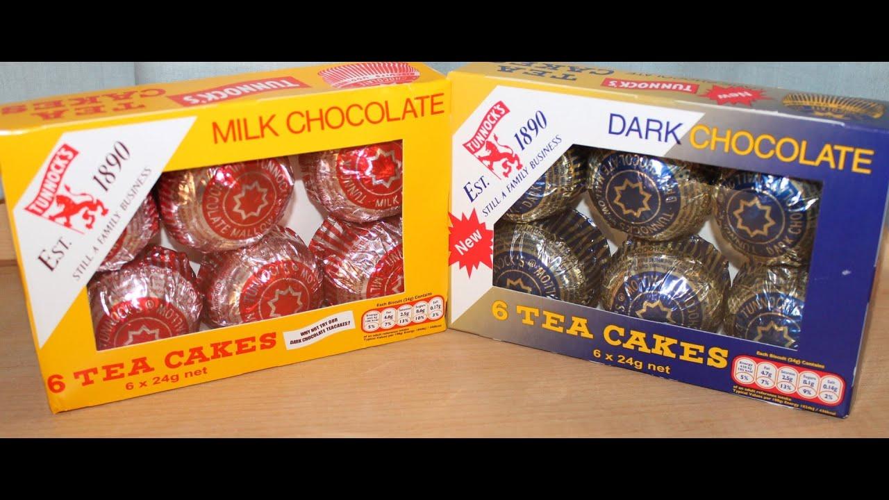 Tunnock S Tea Cakes Milk Chocolate And Dark Chocolate Review Youtube