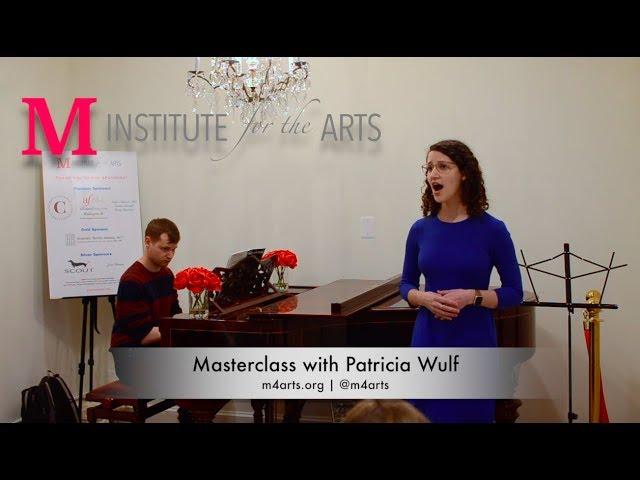 Voice Masterclass with Patricia Wulf ~ Lizzie