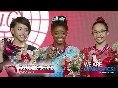 2018 Artistic Worlds – Biles : fourth All-around World title ! – We are Gymnastics !