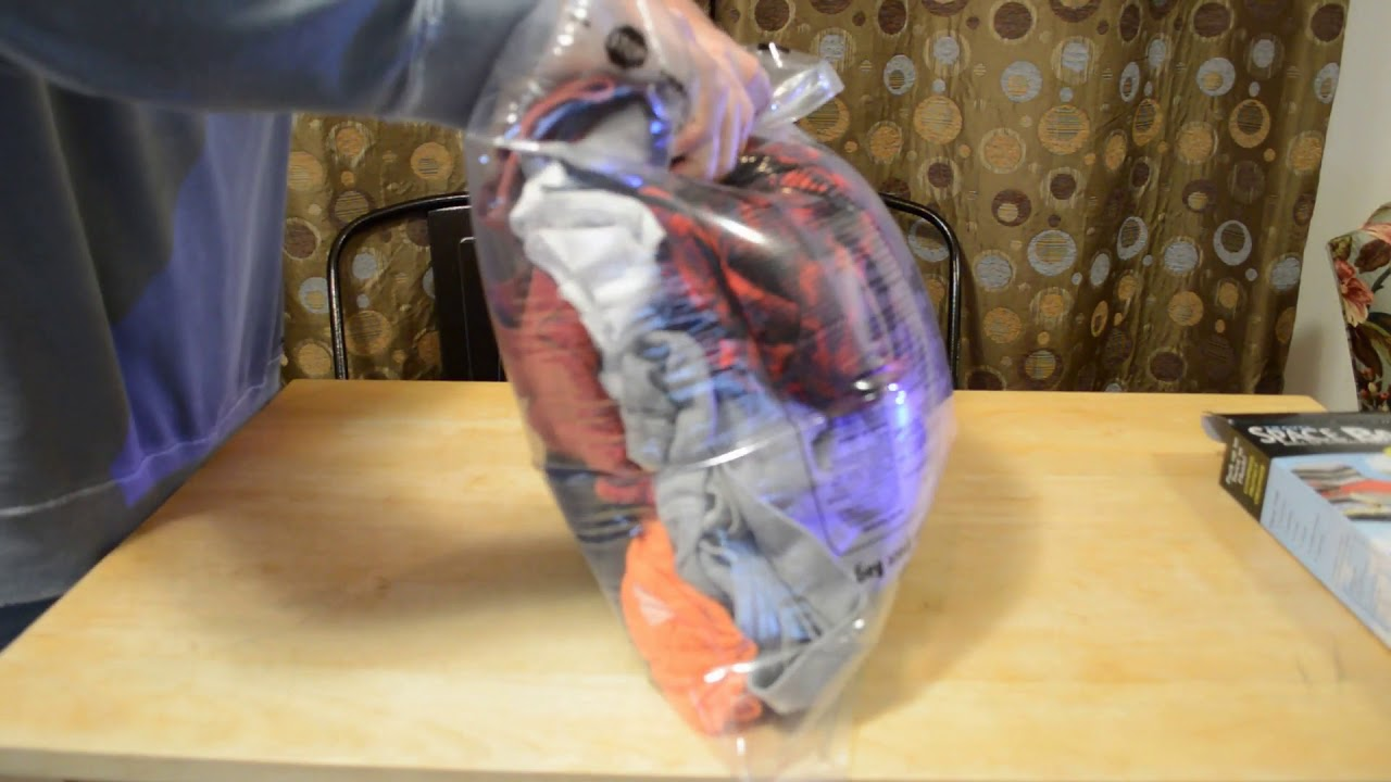 Space Saver 8 Pack Vacuum Storage Travel Bags Review Youtube