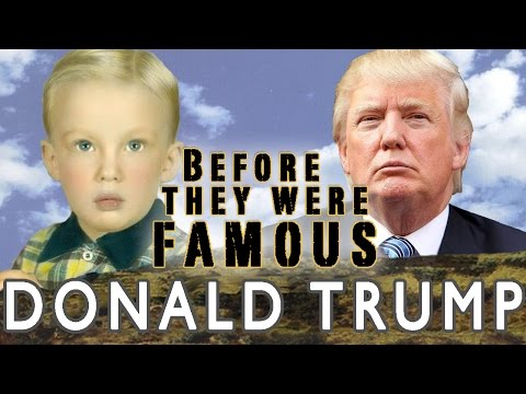 Donald Trump - Before They Were Famous