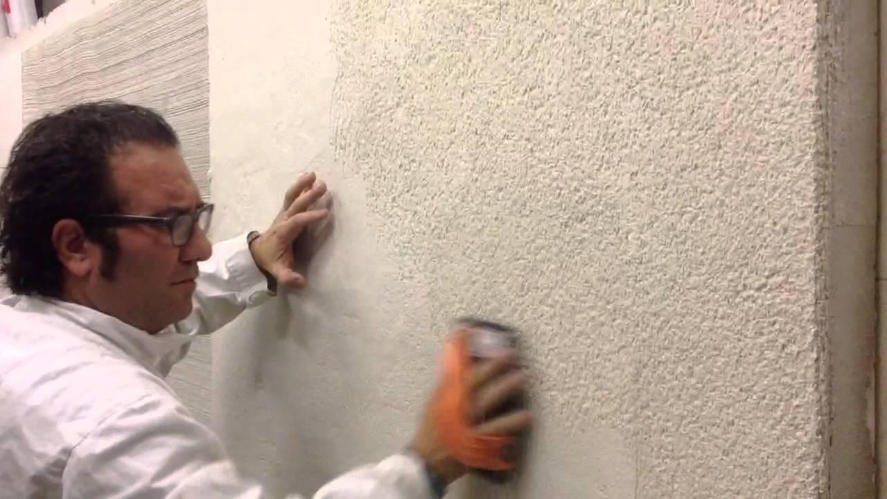 Sehr Kratzputz: Oberflächenbearbeitung eines Sarna-Granol Rauput - YouTube JY78