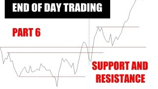 End Of Day Trading Part 6 Support and Resistance Levels