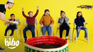 Kids Challenged to Not Move for a Chance of Winning a Prize! | Don't You Dare | HiHo Kids