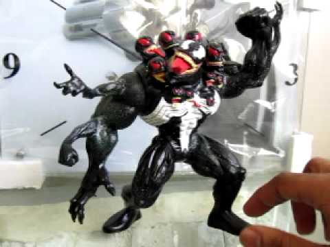 marvel venom the madness figure review - YouTube
