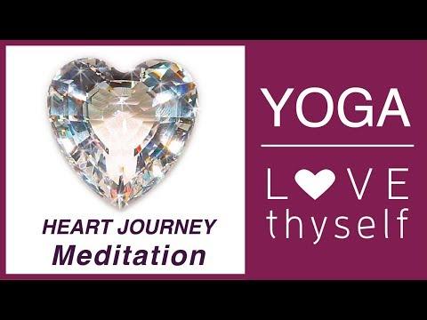 Day 8 💗 Love Thyself Yoga Journey - The Heart of YOU Meditation   Love Yourself Yoga Challenge