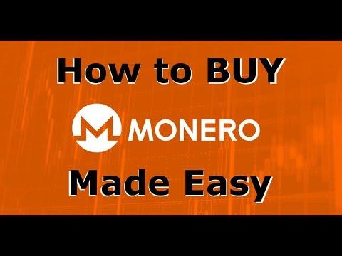 How to Buy Monero (XMR) - The Easiest Way to BUY MONERO!